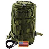 Military Backpack ideal for Outdoor, Hiking, Camping, Backpacking and Hunting - 30L Army Survival Molle Rucksack Price: USD 29.95 | UnitedStates
