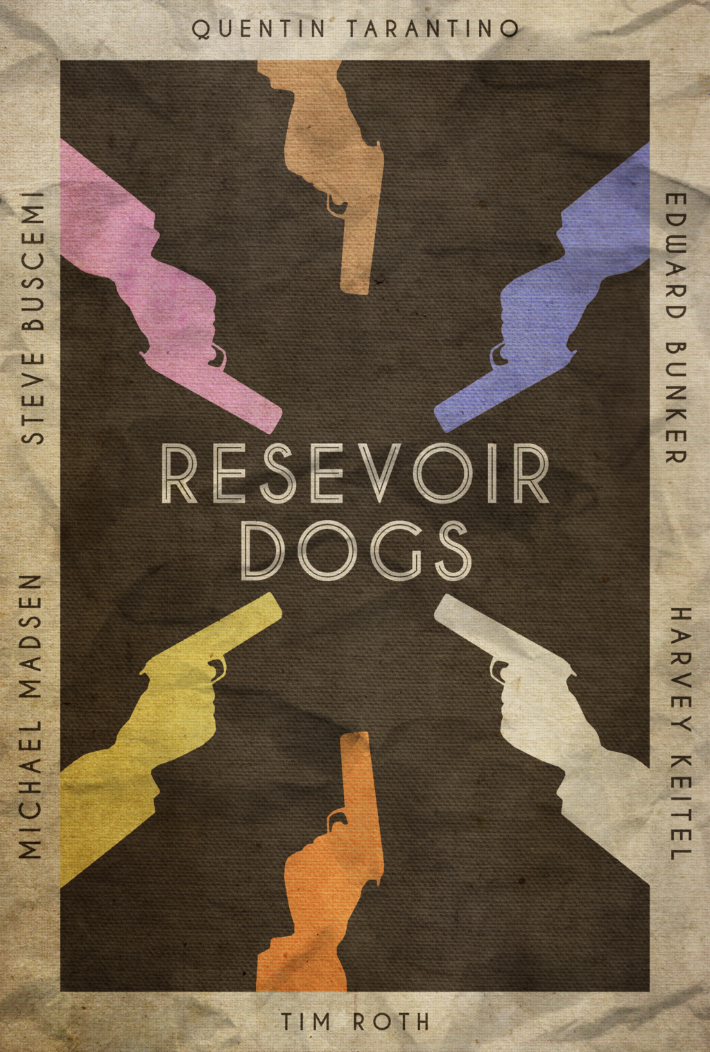 Resevoir Dogs Poster by disgorgeapocalypse
