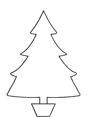Arbol para colorear navidad dulce navidad for Arbol navideno para colorear