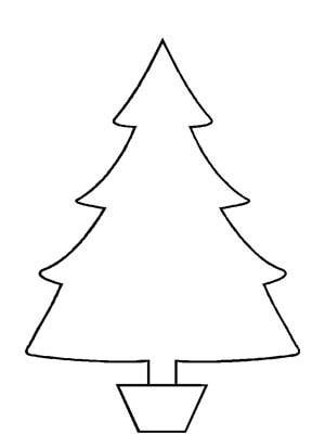 christmas tree template | quiet books | Pinterest | Navidad ...