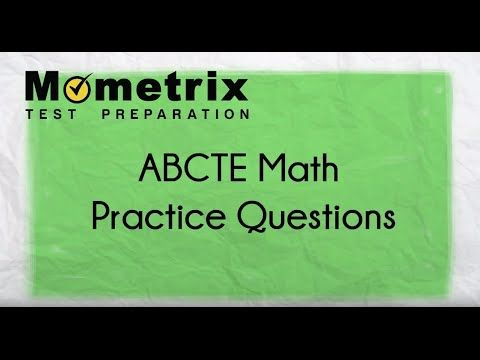 Free ABCTE Math Practice Questions | American Board for ...