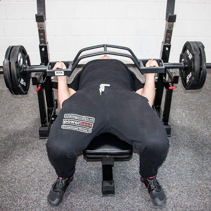 Cambered Bar Bench Press At Home Gym Gym Design Home Gym