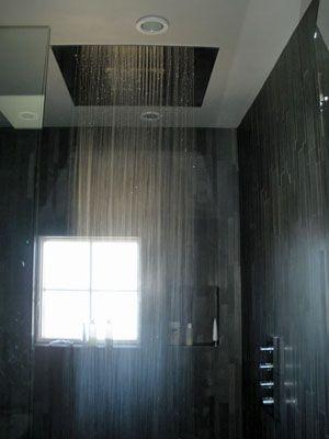 Rain shower head - I love fancy showers | For the Home | Pinterest ...