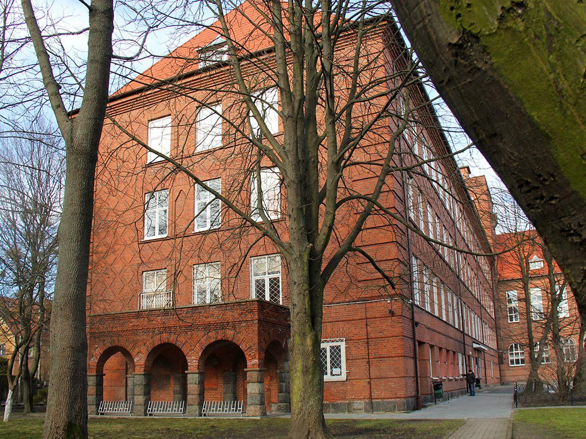 Здание гимназии