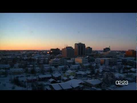 City of Yellowknife: 24 hours Yellowknife - Downtown