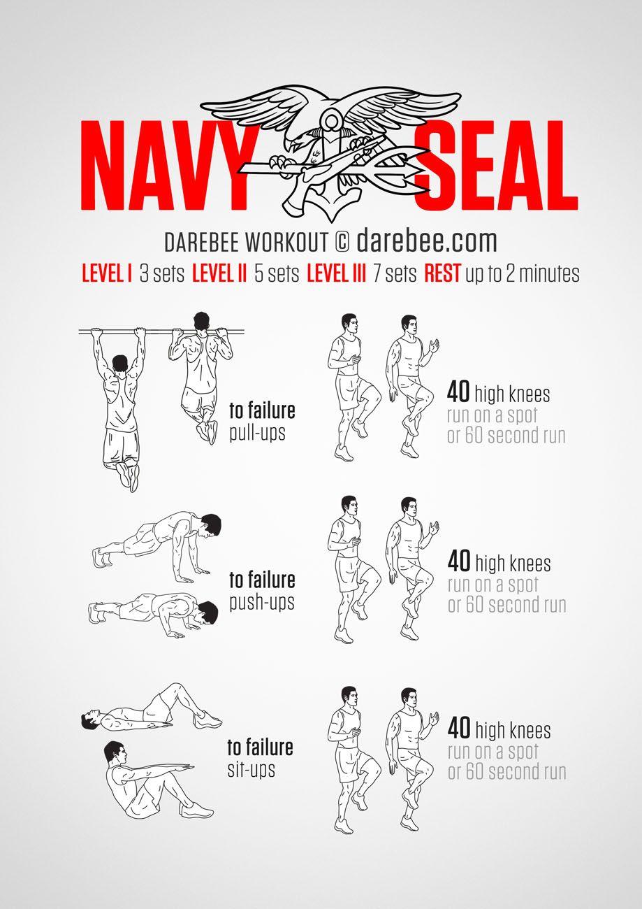 Navy SEAL Workout Printable (Page 1) - Line.17QQ.com