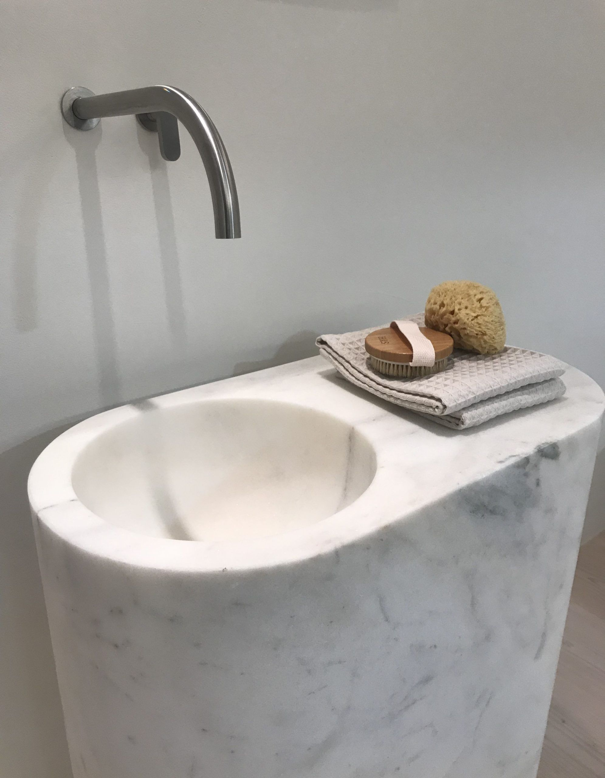 New John Pawson By Cocoon Marble Sink With Inox Faucet In 2020
