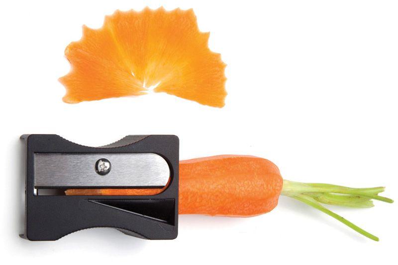 Cómo hacer virutas de zanahoria con un sacapuntas