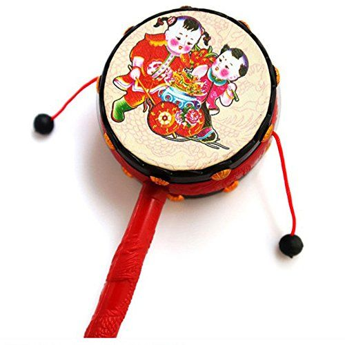 JETTINGBUY KidiBeats Kids Drum Set Rattle Drum Spin * You can get additional details at the image link.Note:It is affiliate link to Amazon.