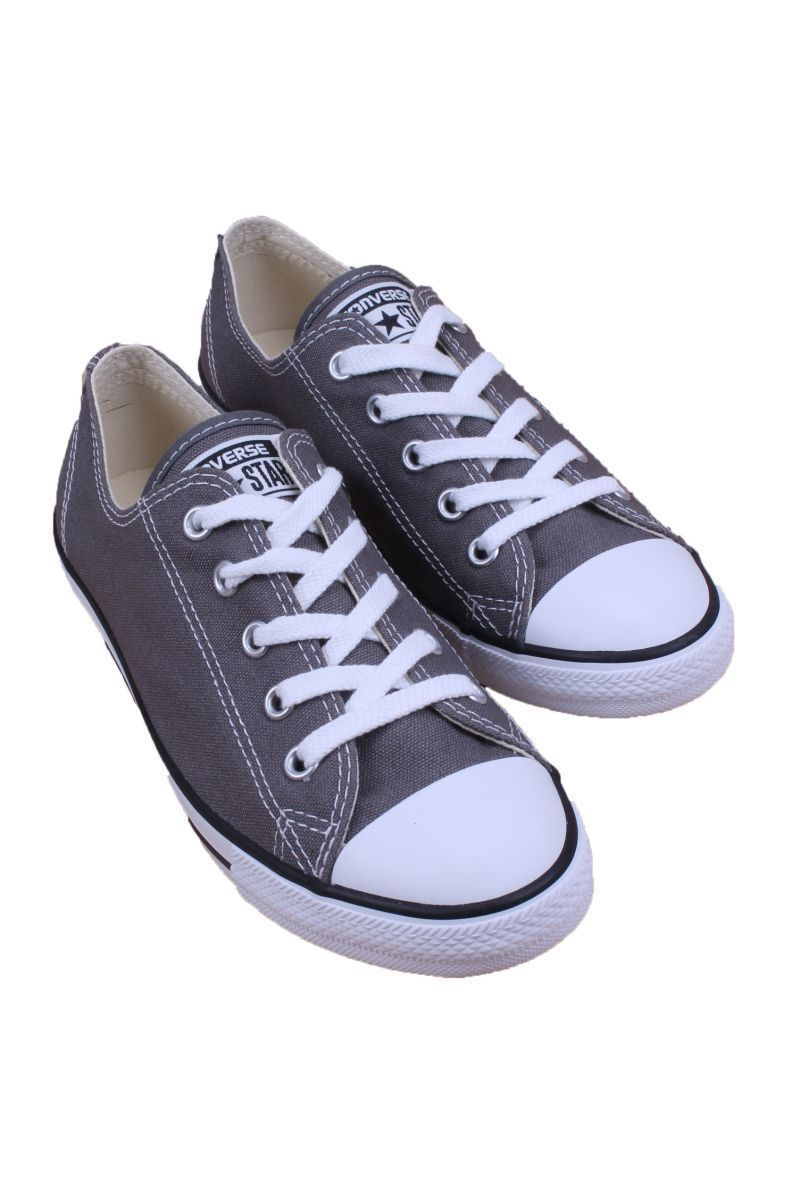 12fdc183d4a4 Chuck Taylor All Star Dainty Ox Women Charcoal 532353F Converse ...