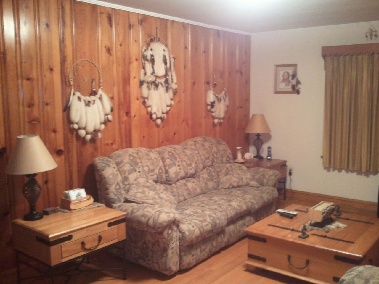 Native American Themed Living Room