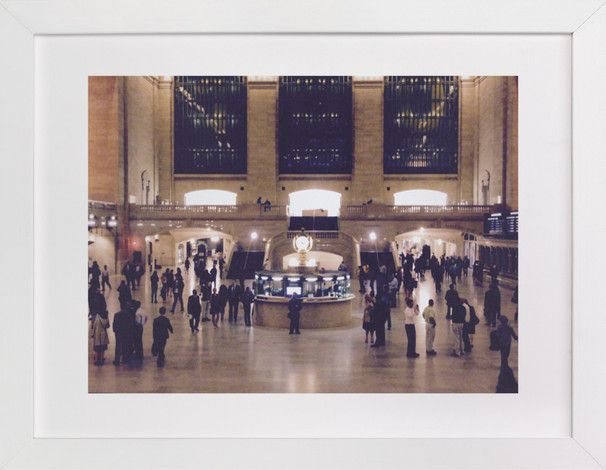 Grand Central Station Wall Art Prints By Kaila Keller Minted Kunstdruck