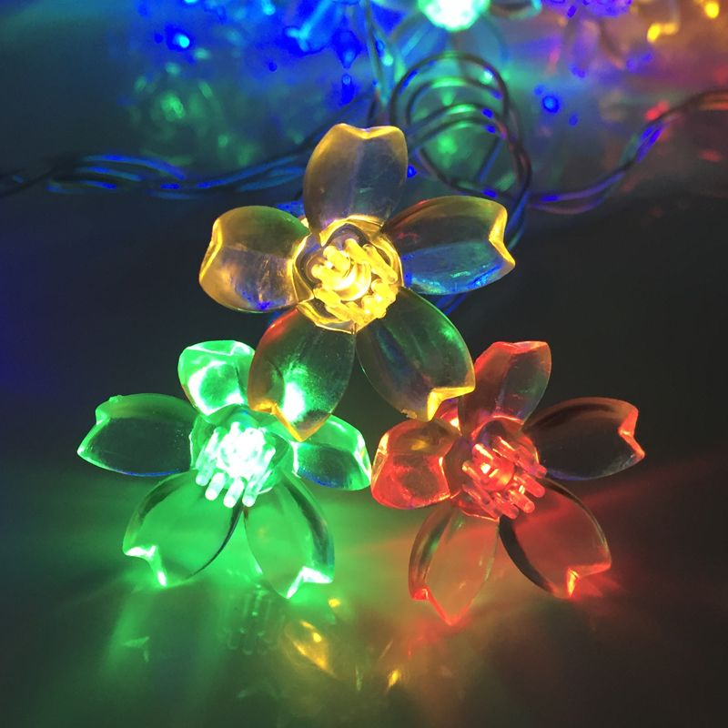 outdoorindoor decoration christmas cherry blossoms fairy lightshigh quality light blue body paintchina lights of america grow light suppliers