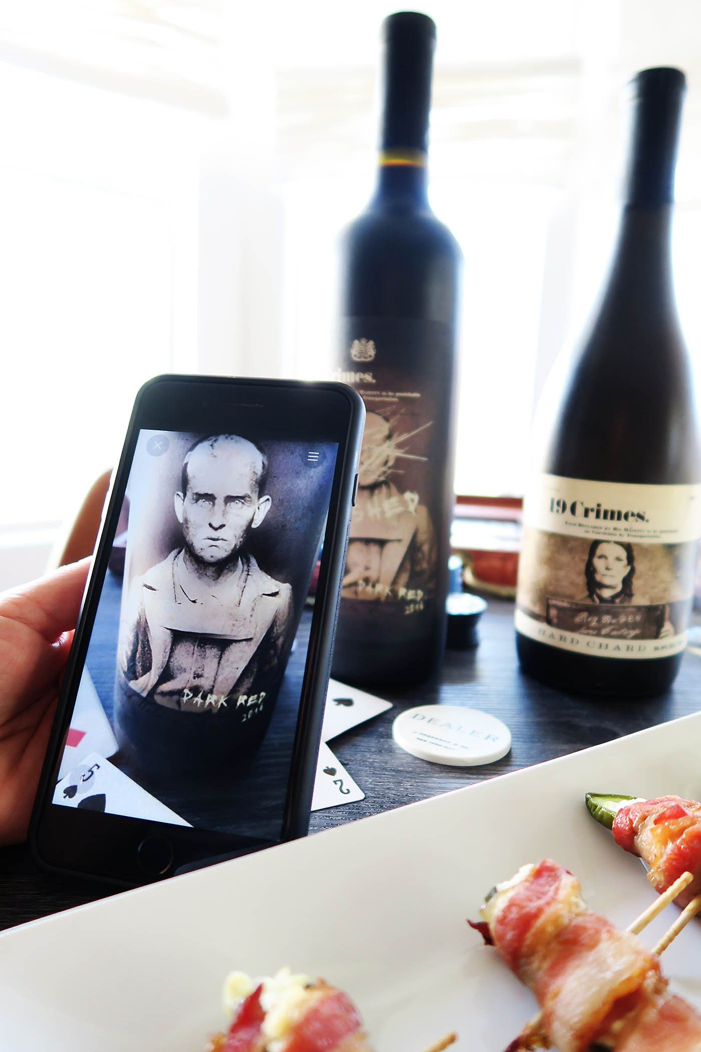Msg 4 21+ Entertaining wine labels (they come to life and