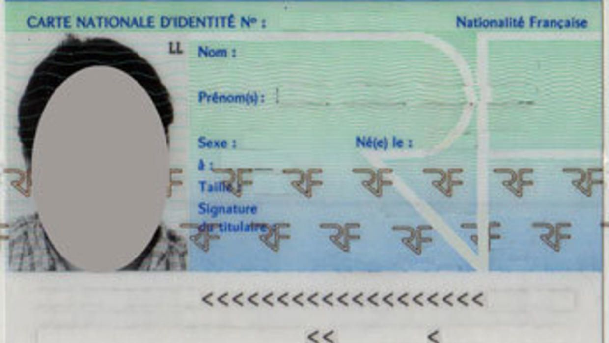 The Astonishing Id Cards And The Bureaucratic Maze Throughout French Id Card Template Photograph Below Id Card Template Card Template Change Of Address Cards