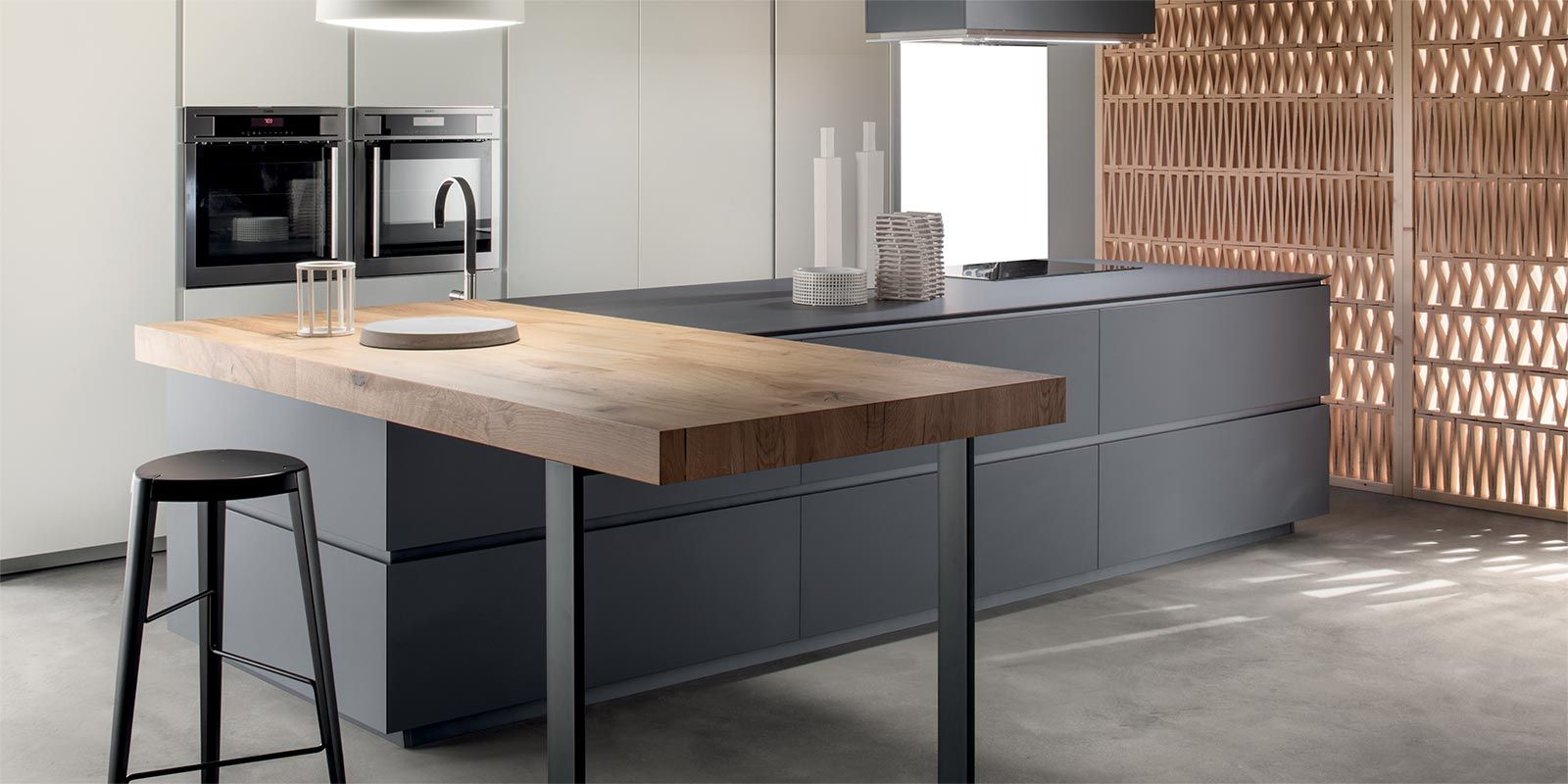 Cucine Obliqua - Cucine Moderne di Design - Ernestomeda | Küche ...