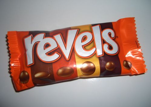 The Last Chocolate In A Packet Of Revels Being A Coffee