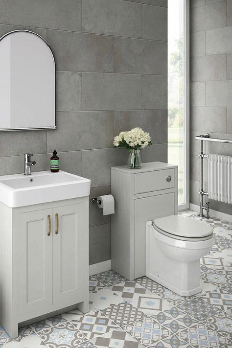 Elegant Grey Bathroom Design Ideas For Small Bathrooms ...