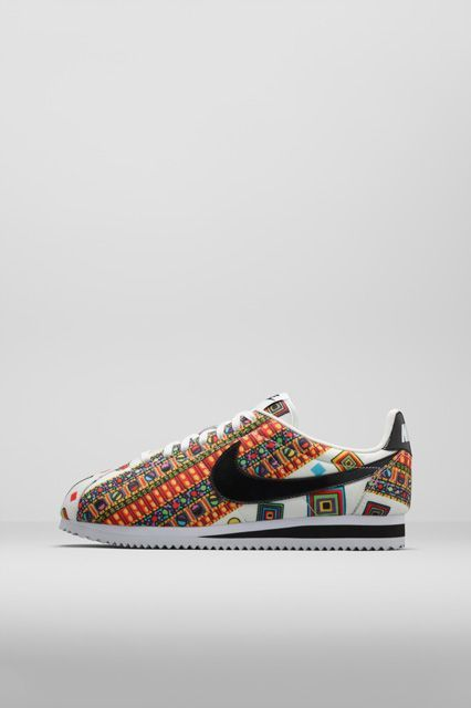 Liberty Prints for Nike, the unearthed Merlin 1922 print. A sneaker to get you retro-fitted.  Nike x Liberty Cortez, available May 15 at Nike.