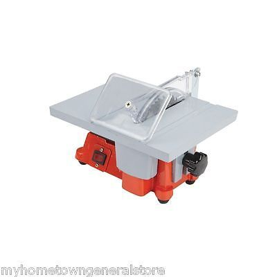 4 Mini Electric Table Saw Tablesaw Great For Hobby Or Craft Free