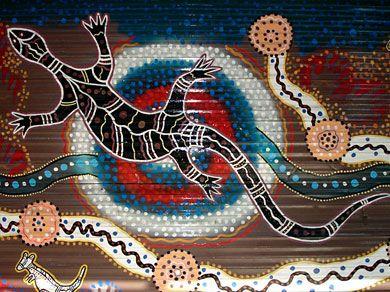 Snake Dreaming Mural