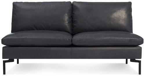 New Standard Armless Leather Sofa By Blu Dot 2modern