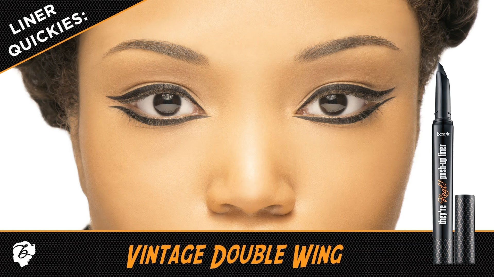Vintage Double Wing they're real! pushup liner Look