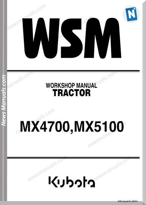 [SODI_2457]   Pin on Workshop Manual | Kubota Mx5100 Wiring Diagram |  | Pinterest