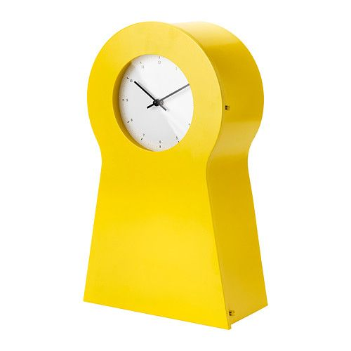 IKEA PS 1995 Clock IKEA The clock is also a good storage place for ...