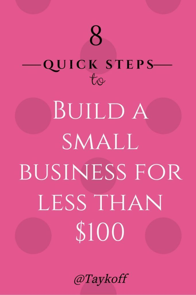How To Start A Small Business In Quick Steps For Less Than
