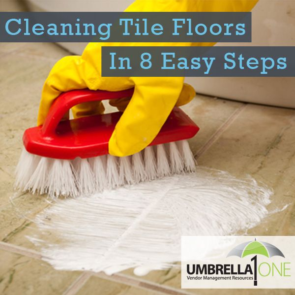 Easy To Clean Commercial Industrial Flooring: How To Clean Tile Floors In 8 Easy Steps.