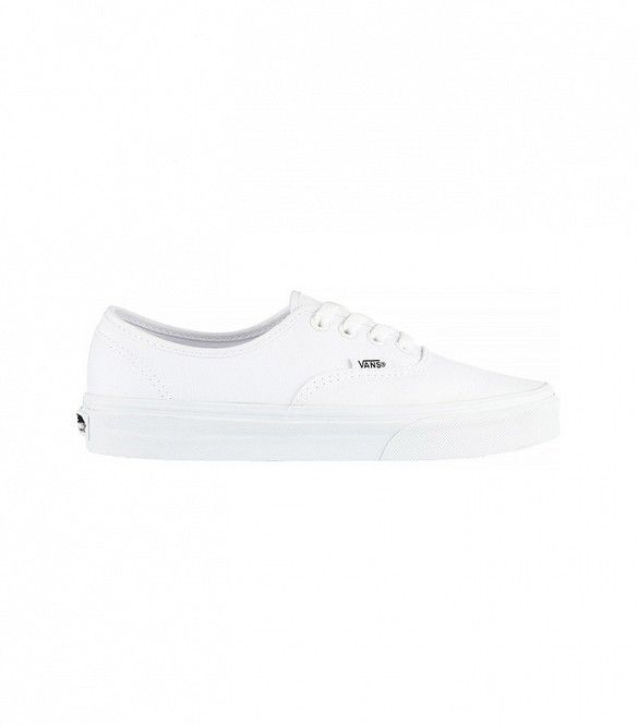 Vans Authentic Canvas Sneakers in White