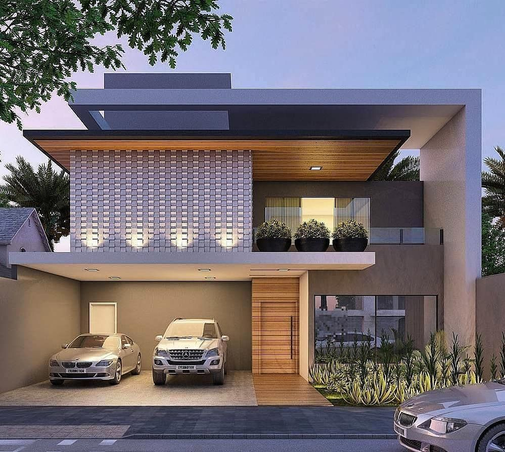 Image may contain tree, house and outdoor is part of House design -