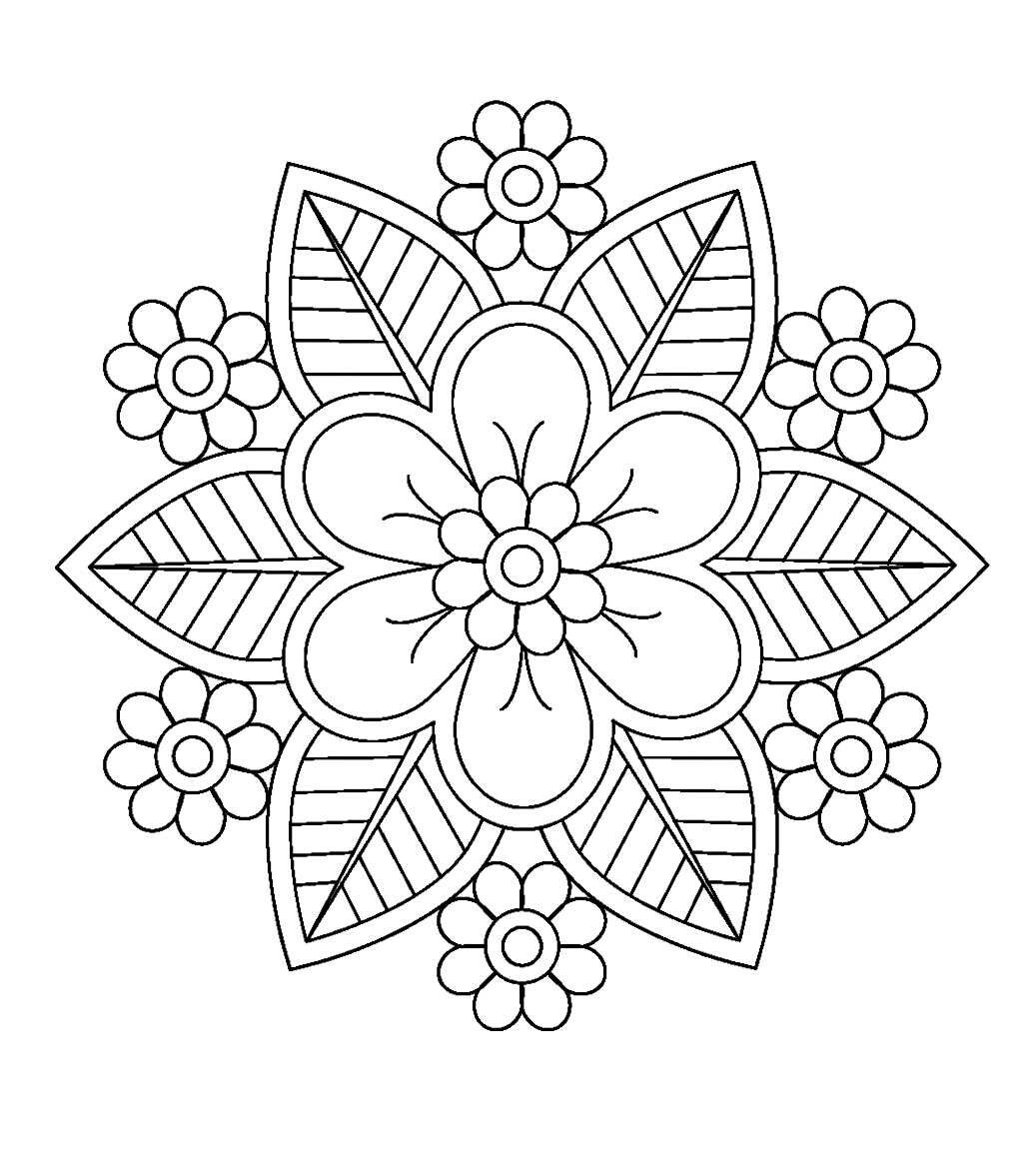Pin de Dee Holle en Coloring Pages | Pinterest | Mandalas, Bordado y ...