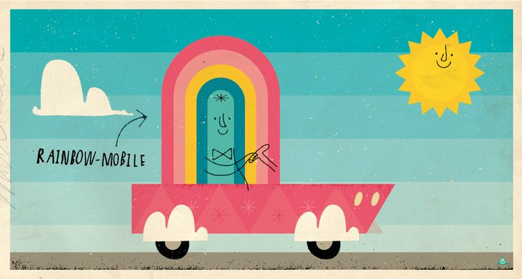 Eric Comstock - rainbow mobile