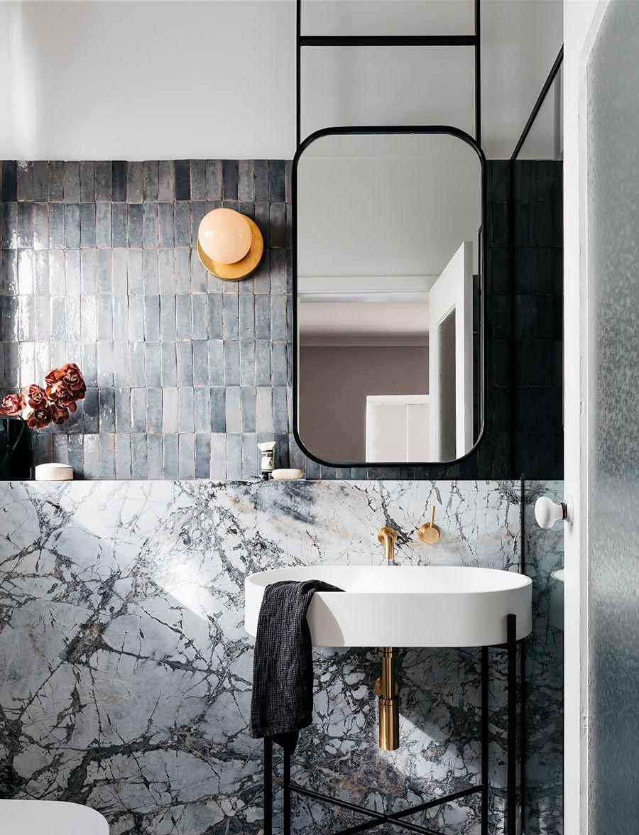 Pin de Kasey Lam en // interior/ bath   Pinterest   Baños, Baño y ...