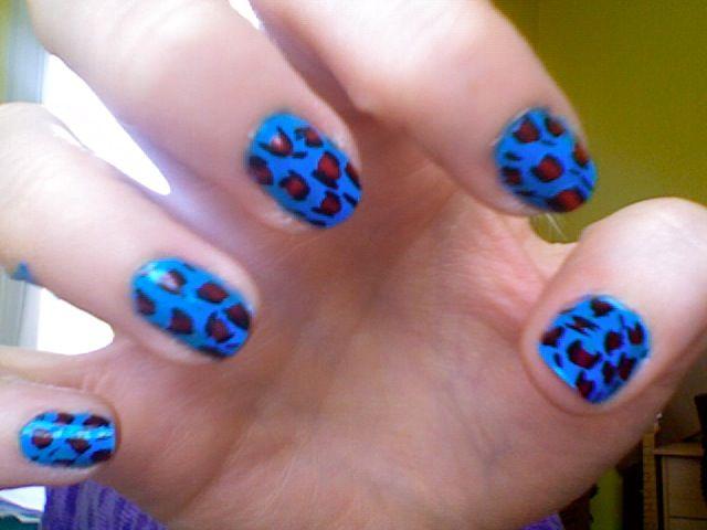 Acrylic Nails April 2011 Nail For Women Pinterest Leopards
