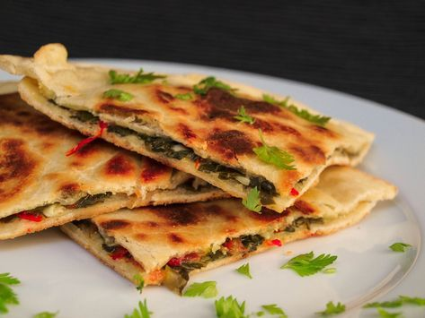 Mediterrán serpenyős lepény - Vegetáriánus receptek..