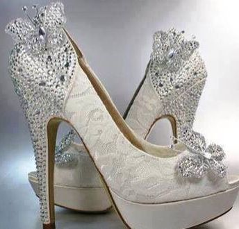 95c892d68ce Butterfly wedding shoes ♥️❤️♥️❤️♥️❤️ | Flutter & Flowers ...