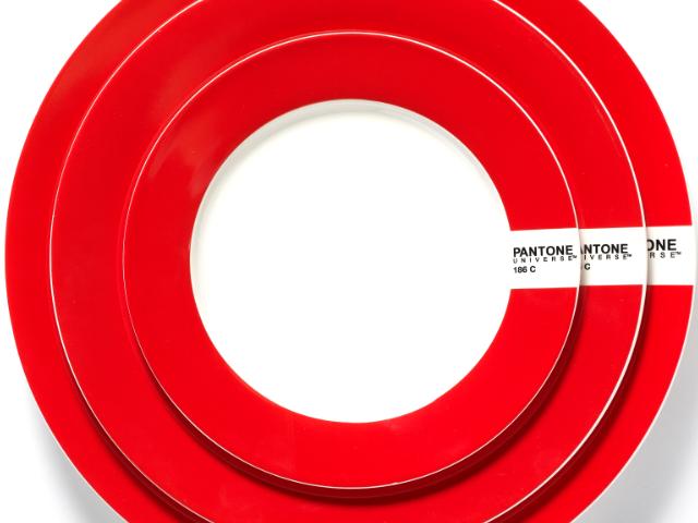 PANTONE Plates Red 186C  sc 1 st  Pinterest & PANTONE Plates Red 186C | PANTONE - designer Luca Trazzi | Pinterest ...