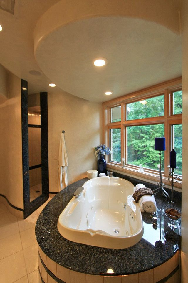 Here\'s a close-up picture of the Jacob Delafon jetted tub and the ...