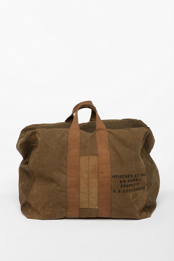 militär väska vintage