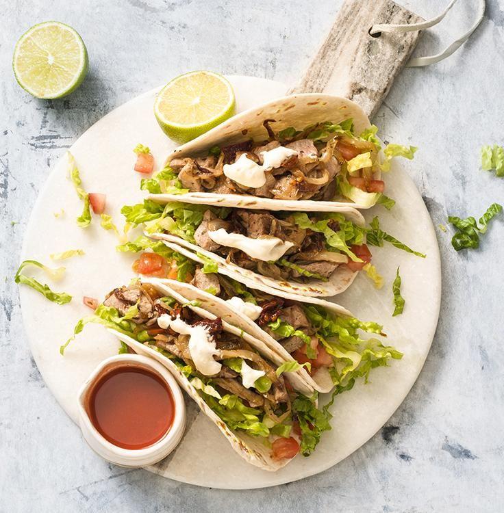 pork tacos with chipotle sour cream  recipe  pork tacos