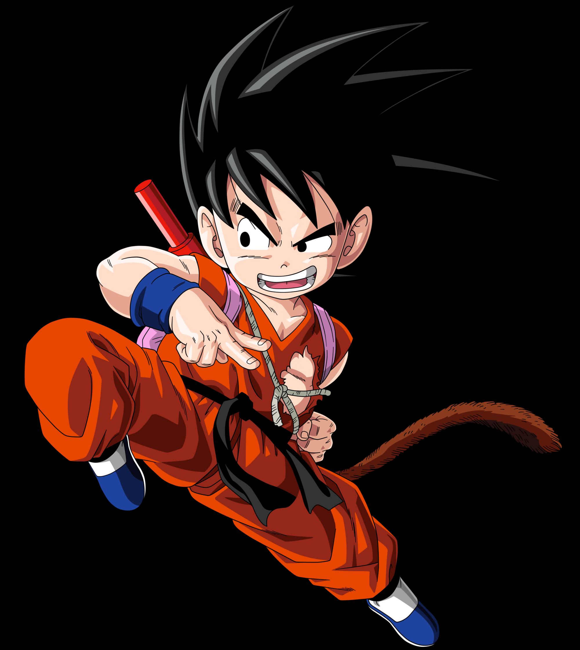 Goku Kid Goku Anime Dragon Ball Super Dragon Ball Z Wall Stickers