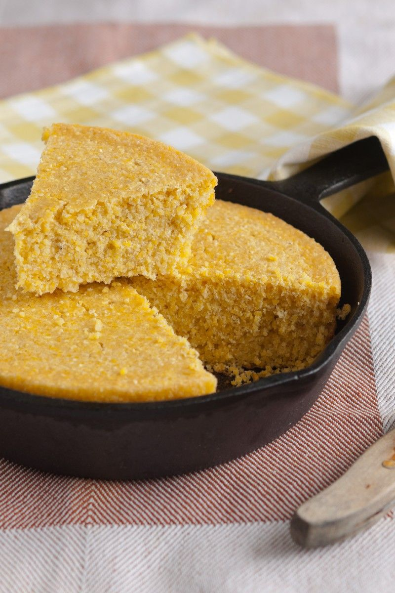 Golden Sweet Cornbread Kitchme Sweet Cornbread Cornbread Easy Corn Bread Recipe