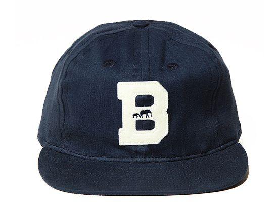 2b53d63c64be4 Cotton BKc Strapback Cap by BROOKLYN CIRCUS x EBBETS FIELD