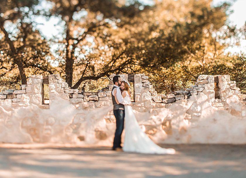 Elopement packages in fredericksburg texas wedding