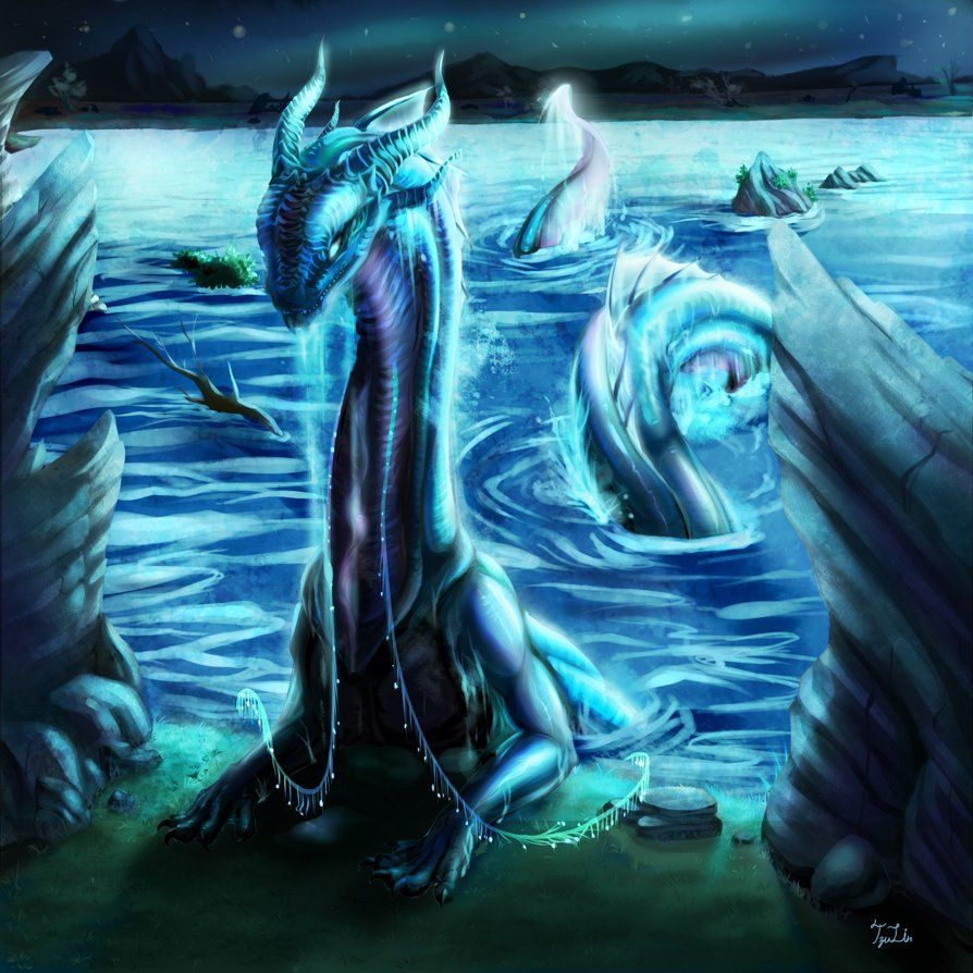 What type of dragon are you? - Are you a Hydrophius (water dragon) ? | Water  dragon, Types of dragons, Elemental dragons