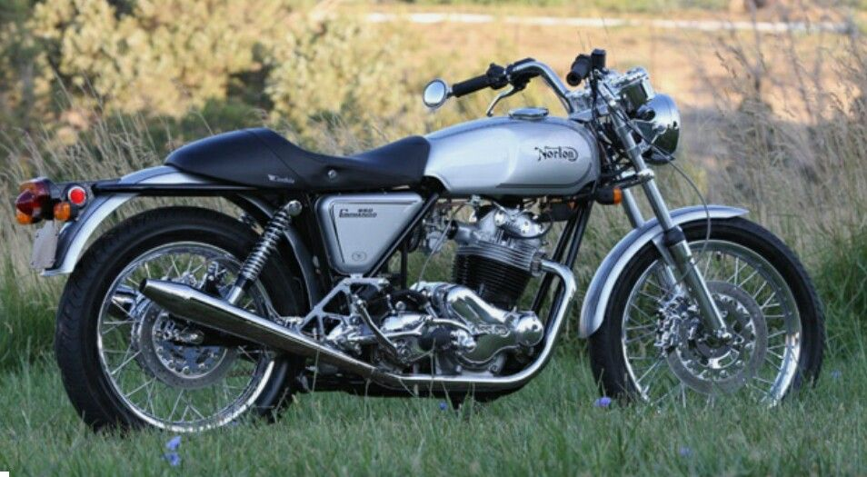 Pin By Mark Faas On Rides And Rods With Images Norton Commando