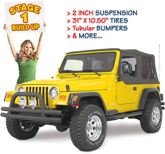 Build By Stages Stage 1 Jeep Wrangler Jeep Wrangler Parts